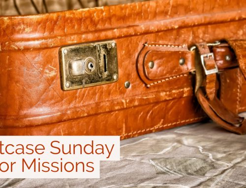 Suitcase Sunday for Missions