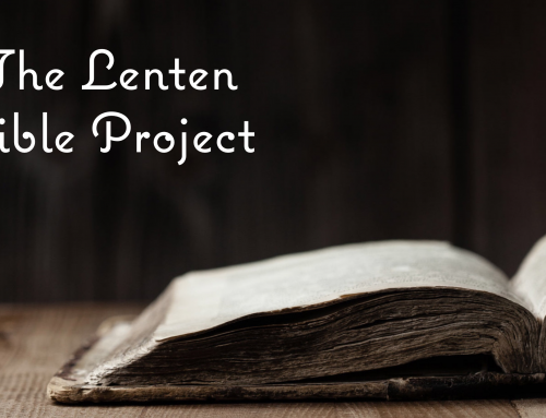 The Lenten Bible Project