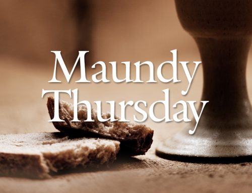 Online Worship: Maundy Thursday, April 1, 2021