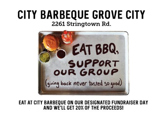 City Barbeque Grove City – Mission Trips Fundraiser