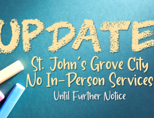 Church Information Updates Due to COVID-19