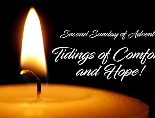Sunday Online Worship: Second Sunday of Advent, December 6, 2020