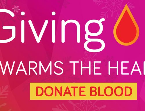 Giving Warms the Heart, Donate Blood