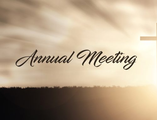 Annual Meeting – January 2021